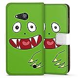 DeinDesign Microsoft Lumia 550 Flip Tasche Schutz Hülle Walletcase Bookstyle Monster Kids Kinder