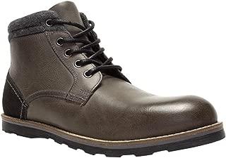Crevo Mens Geoff Casual Boots, Grey, 14
