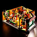 VONADO Led Lighting Kit for Lego 21319 Central Perk Ideas Series Building Blocks, Creative Building Brick Kit Model Light Set for Gifts, Building Block Light Kit for Party and Birthday(Lights Only)