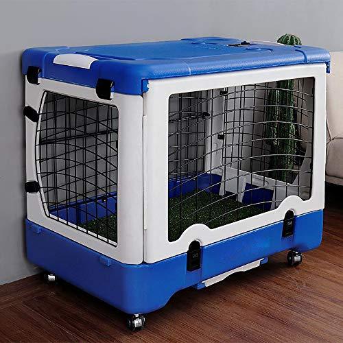 QNMM Portable Chien Air Box Voyage Super Sturdy Pet Carrier Carrier Travel Design Pliant Convient pour Les Animaux De Petite Et Moyenne Taille pour Les Voyages en Plein Air