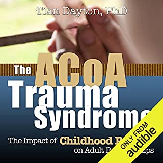 ACOA Trauma Syndrome     The Impact of Childhood Pain on Adult Relationships              Written by:                                                                                                                                 Tian Dayton                               Narrated by:                                                                                                                                 Elizabeth Hanley                      Length: 7 hrs and 14 mins     2 ratings     Overall 5.0