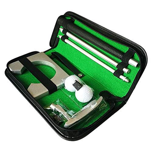 Clenp Golf Putter Set, 3-teiliges Faltbares Tragbares Putting Tool Für Rechts Golf Putter Club Silber Einheitsgröße