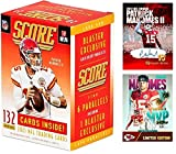 NEW 2021 Panini SCORE Football Cards FACTORY SEALED Blaster Box with 132 Cards - Look for Trevor Lawrence, Zach Wilson, Justin Fields, Mac Jones and Zach Wil... rookie card picture