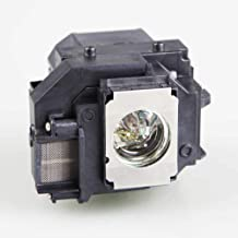 Gahin Elplp58 / V13h010l58 Replacement Lamp Bulb with Housing for Epson EX3200 EX5200 EX7200 PowerLite 1220 1260 S9 X9 S10+ VS200 EB-S10 EB-S9 EB-S92 EB-W10 EB-W9 EB-X10 EB-X9 EB-X92 Projectors