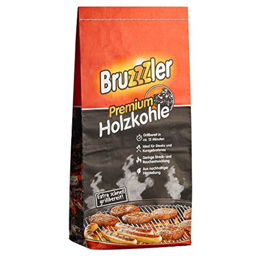 Bruzzzler Carbón vegetal para barbacoa,...