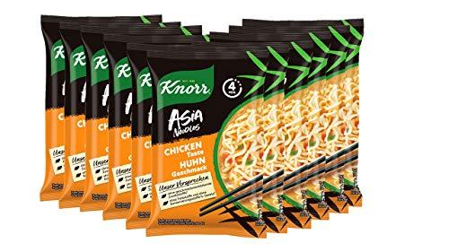 Knorr ASIA Noodles Express Huhn, 11er Pack (11 x 70 g)
