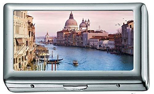 Venedig Italien Kanal Wasser Stadt Gebäude Zigarettenetui / -schachtel, Kreditkartenetui für Frauen Männer