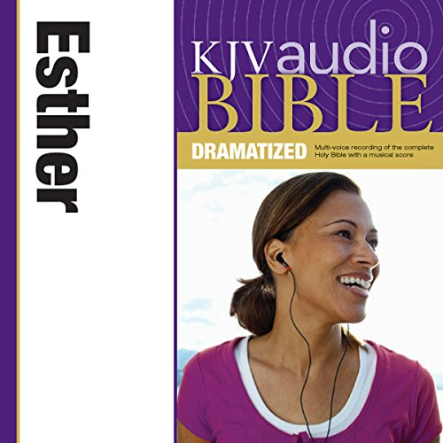 Dramatized Audio Bible - King James Version, KJV: (16) Esther audiobook cover art