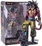 lkw-love Dragon Ball Super Saiyan 4 Son Goku Son Goku Manga Dimensiones Versin PVC Estatua Figura Coleccin Modelo Juguete