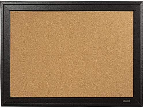 "Quartet Cork Board Bulletin Board, 11"" x 17"" Framed Corkboard, Black Frame, Decorative Hanging Pin Board, Perfect for Office & Home Decor, Home School Message Board or Vision Board (79279)"