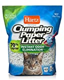 HARTZ Multi-Cat Lightweight Recycled Clumping Paper Cat Litter,...
