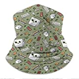 Xebcivso Cute Takeout Microfiber Neck Warm Balaclava Turban for UV Protection...