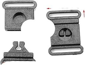 50 pièces noir Plastie sécurité rupture de soutien-gorge boucle pour collier pour animaux de compagnie harnais vêtements s...