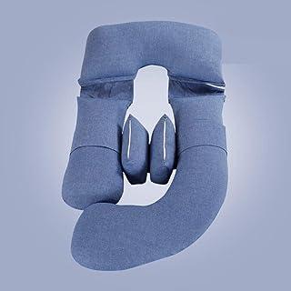 Dpliu Haute qualité Oreiller d'oreiller de Grossesse réglable d'oreillers à Corps d'oreillers pour Femmes Enceintes Coussi...
