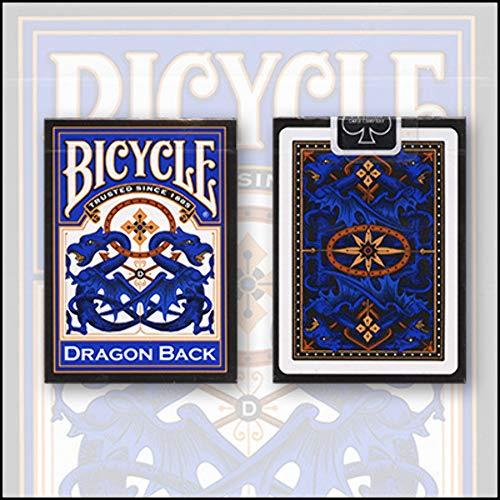 Baraja Dragon (Bicycle dorso Azul)