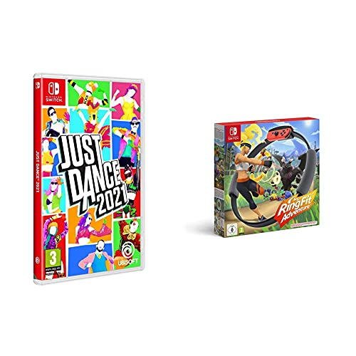Just Dance 2021 + Ring Fit Adventure