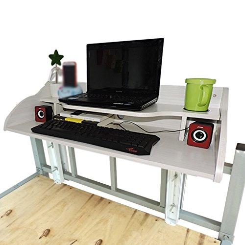 Floating dormitorio scrivania Artefatto Camera cuccetta superiore Artefatto pigro scrivania galleggiante notebook Computer Desk