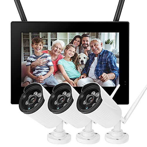 Juicemoo Monitor para bebés, cámara inalámbrica de Seguridad DVR 3 de 10(European Standard (110-240V))