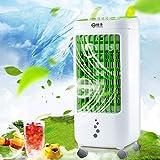 Aire acondicionado portátil - 2019 nuevo mini aire acondicionado móvil, refrigerador de aire portátil, refrigerador de aire, aire acondicionado móvil con control remoto, hasta 20 horas (Verde B)