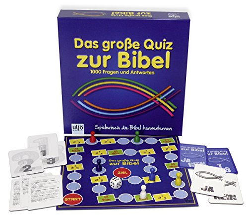 Christliche Geschenkideen °° Gesellschaftsspiel Das große Quiz zur Bibel