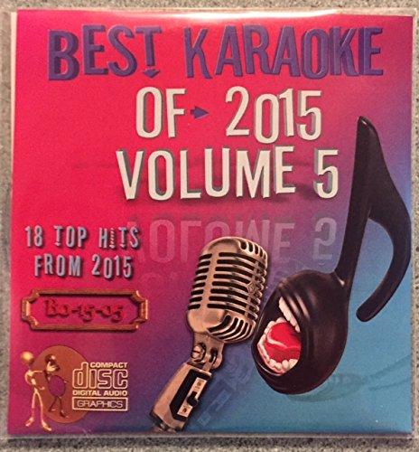 Best Of Karaoke 2015 Volume 5 CD+Graphics CDG 18 Pop & Country Tracks Justin Bieber Adele Selena Gomez Major Lazer Ellie Goulding Cam Blake Shelton Carrie Underwood Old Dominion Keith Urban