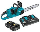 Makita XCU04PT LXT Lithium-Ion Brushless Cordless 16' Chain Saw Kit (5.0Ah)