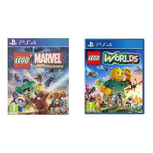 LEGO Marvel Super Heroes - Edición Estándar + Worlds - Edición Estándar