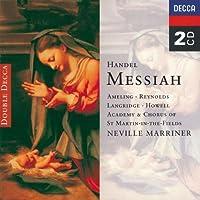 Handel - Messiah / Ameling ツキ A. Reynolds ツキ Langridge ツキ Howell ツキ Marriner (1995-10-17)