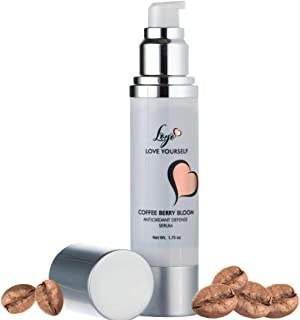 COFFEE BERRY SERUM - 10 SUPER ANTIOXIDANTS IN ONE to Protect and Repair, Promote Collagen Growth & Glowing Skin - Ideal Defense from Free Radical & UV Damage, Age Defying with Vitamin Rich Botanicals