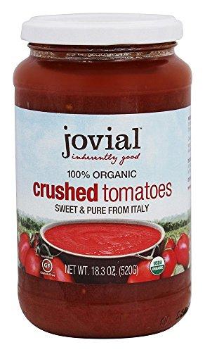 Jovial Organic Crushed Tomatoes - 18.3 oz - 6 Pack