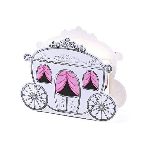 12 Mini Carriage Treat Boxes