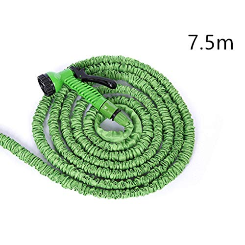 Qingchul Erweiterbarer magischer Gartenschlauch Thermoschlauch Flexibler Schlauch Ausziehbarer Gartenschlauchaufroller LKW-Wasseranschluss