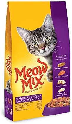 [Amazon.ca] Meow Mix Original Choice Cat Food, 2 kg, $3 (or cheaper w/ S&S)