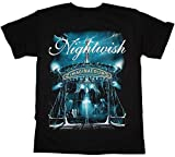 Photo de HEFU Nightwish Imaginaerum 2011 Symphonic Metal Epica Xandria Tarja New Black T-Shirt par