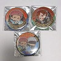 呪術廻戦 ジュエリー缶バッジ 虎杖悠仁 五条悟 釘崎野薔薇 anime グッズ