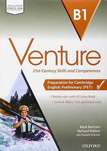 Venture B1: Super Premium. Con Entry Book, Student'S Book, Workbook, , Open Book e Studyapp [Lingua inglese]