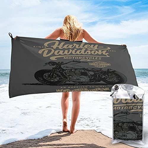 Large Puzzle Toalla de baño de calidad de hotel de 5 estrellas Harley Davidson. Toalla de baño de primera calidad. Suave, felpa y muy absorbente