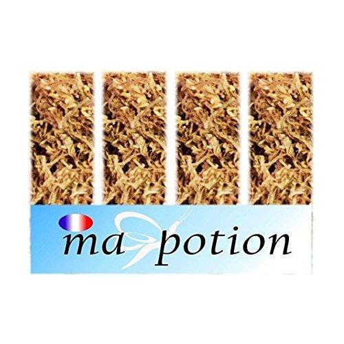 MA-POTION - E-Liquide Lot de 4 saveur Tabac, Eliquide Français MA POTION, recharge liquide pour cigarette électronique, Ecig - 10ml, 0mg