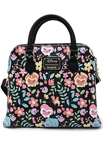 Loungefly X Disney Alice in Wonderland Flowers AOP Crossbody Bag