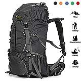 Best Hiking Backpacks - Loowoko Hiking Backpack 50L Travel Daypack Waterproof Review