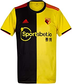 2019-2020 Watford Home Football Soccer T-Shirt Jersey