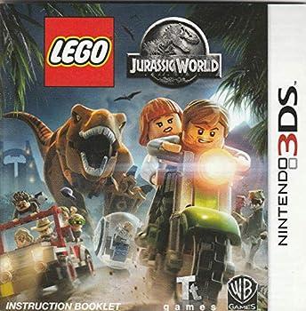 Nintendo 3DS Lego Jurassic World Instruction Manual NO GAME Pamphlet Only