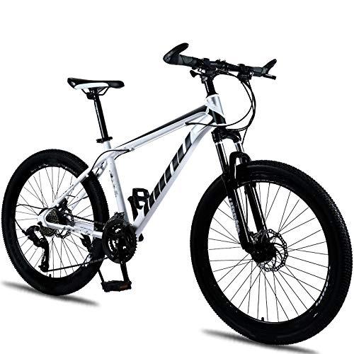Vélo de montagne, frein à disque, absorption des chocs, 21 vitesses, freins à disque 26 pouces, vélo à neige, pour l'environnement urbain et trajets vers et depuis le travail