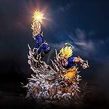 Dragon Ball Z Goku Super Saiyan 2 vs Demonización Vegetilla Limited versión 1/6 Escala Figura Figura