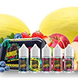 0% Nicotine Free. 5 x 10ml Mixed Fruit Flavored E Liquid. <span class='highlight'>Vape</span> Juice for All E Cigarettes. 10ml <span class='highlight'>Vape</span> Liquid for Electronic Cigarette <span class='highlight'>Vape</span>s Box Mod <span class='highlight'>Vape</span> Pod Pen & Starter Kits. Made in UK