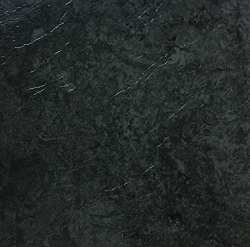 d-c-floor - 1 m² Selbstklebende Bodenfliesen - Fliesenaufkleber für den Boden, Dark Slate