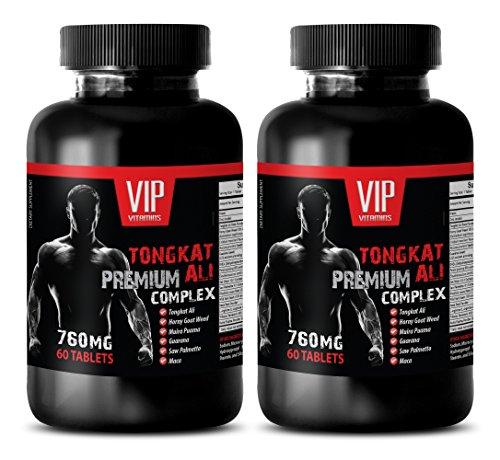 Testosterone Booster Enhancement - TONGKAT ALI Premium Complex 760MG - Tongkat Jack - 2 Bottle (120 Tablets)