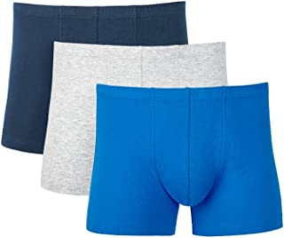 Hanes Men's Underwear Cotton Tunnel Waist Trunk (3 Pack)