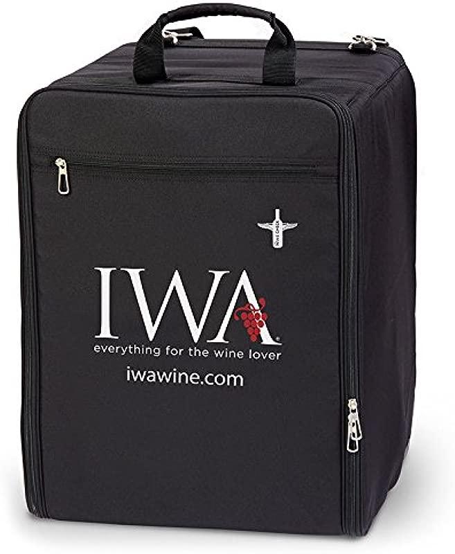 Wine Check Luggage Complete Set Black 7743