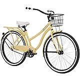 Huffy Woodhaven 26 Inch Women's Cruiser Bike - Cream Yellow